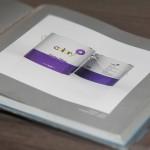 Livro Design and Design - embalagem de tinta