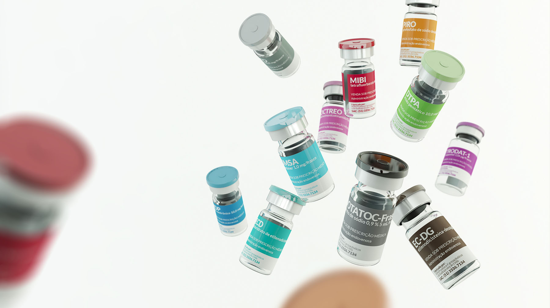 Design de embalagens RPH Pharma Porto Alegre