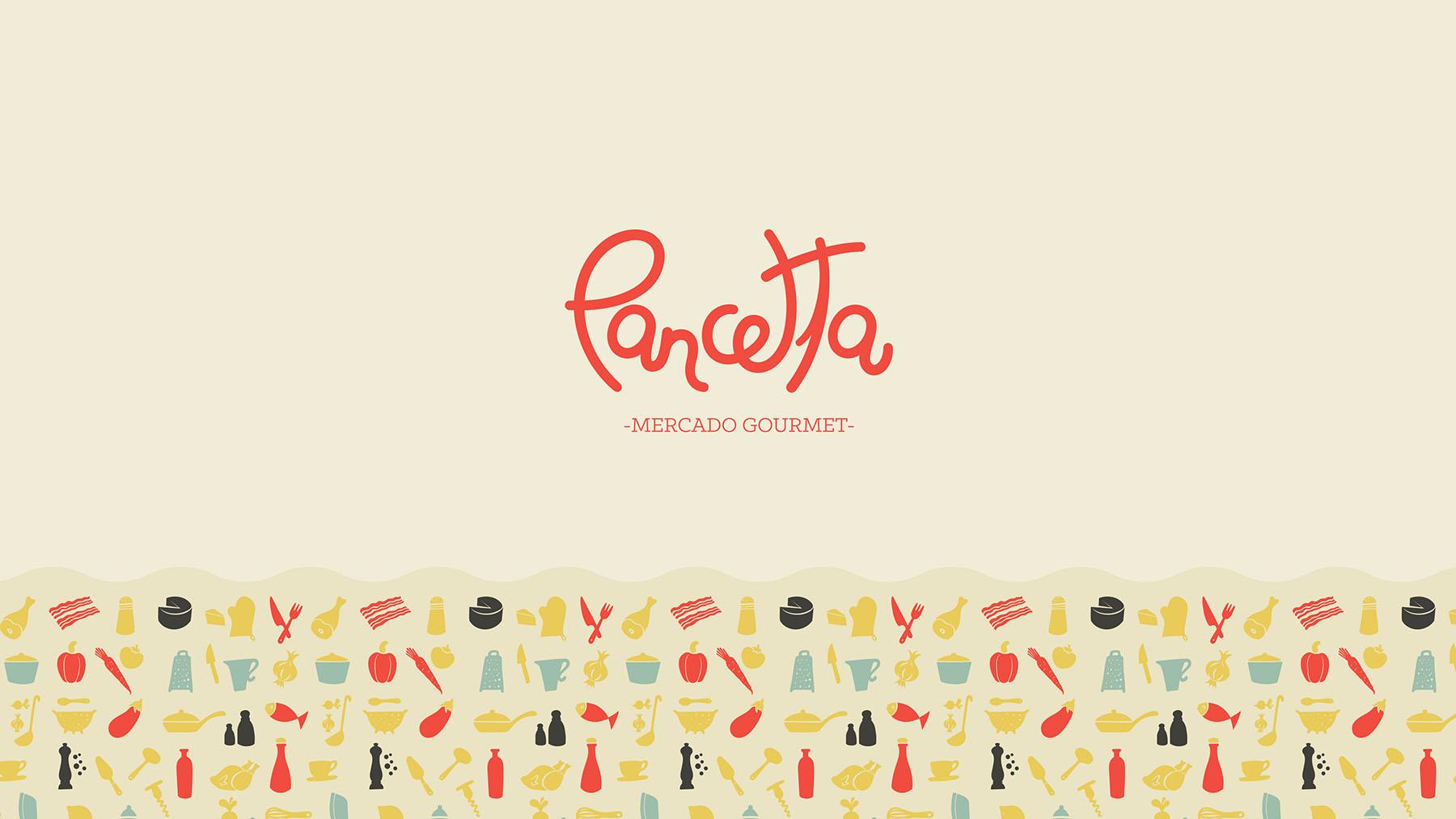 Design de Marca - Logo - Pancetta Novo Hamburgo