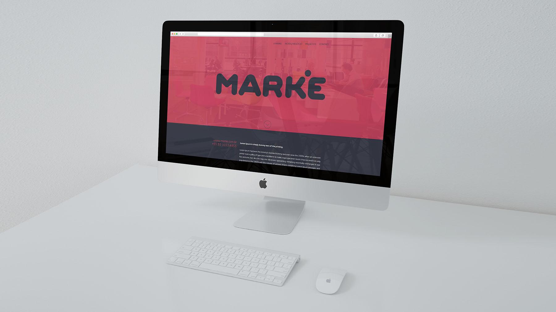 Criação de logo - Marke Novo Hamburgo