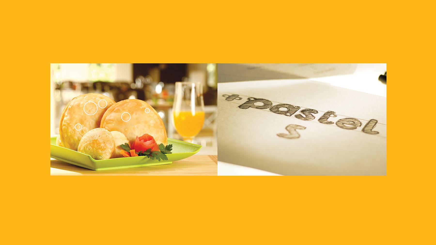 Criação do logo +Pastel