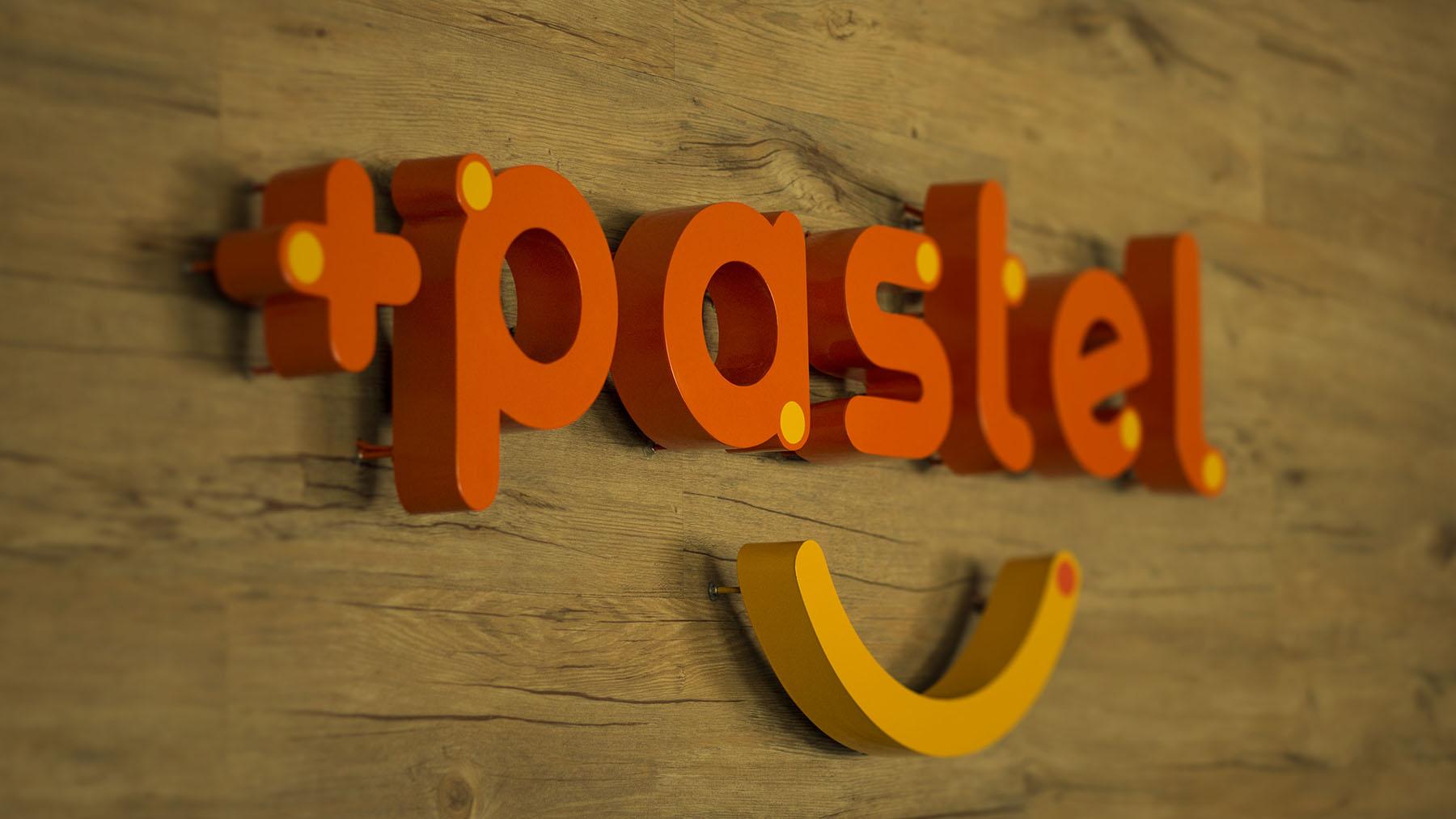 Design do logo +Pastel Novo Hamburgo