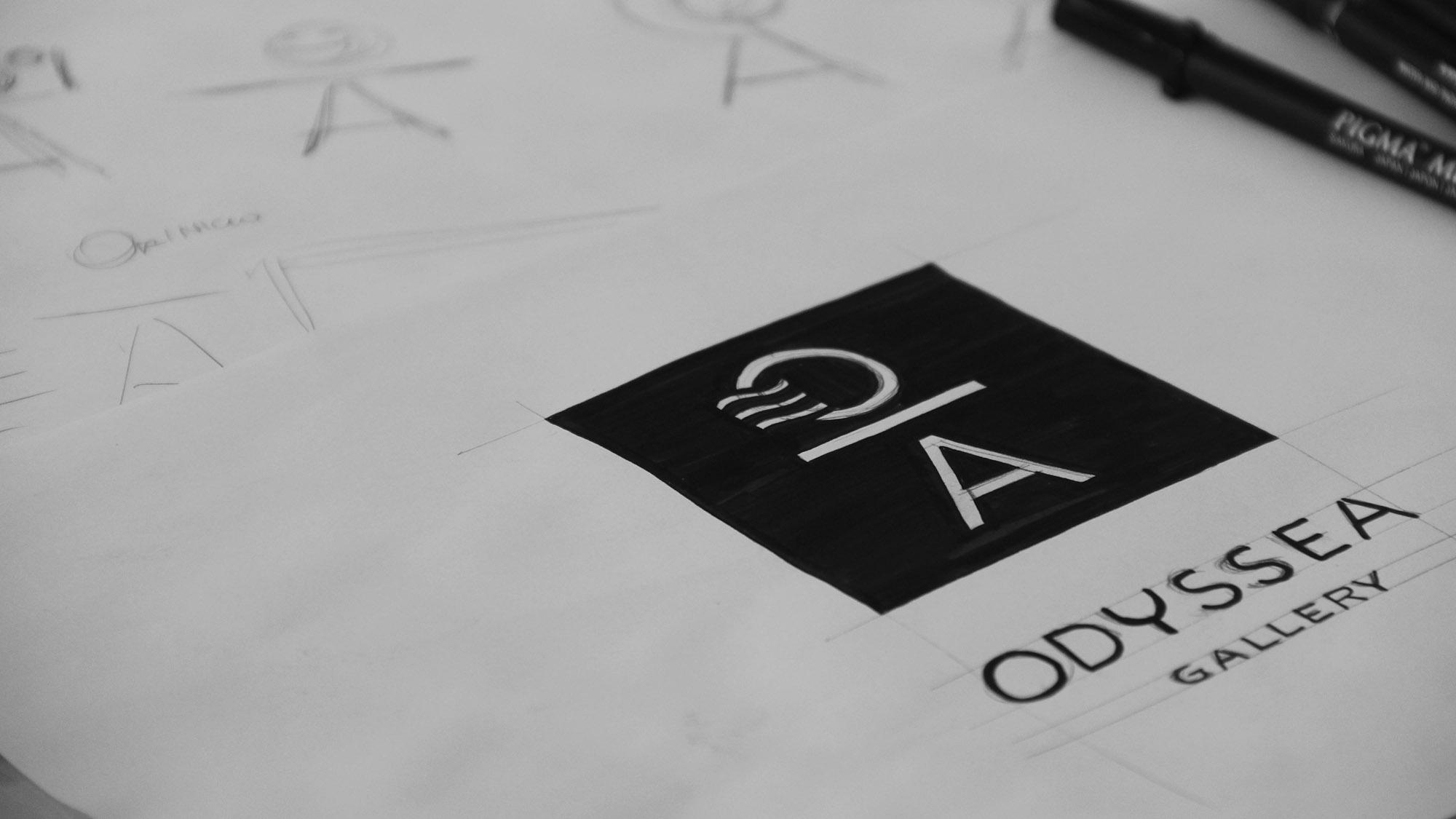 Rascunho do logo Odyssea
