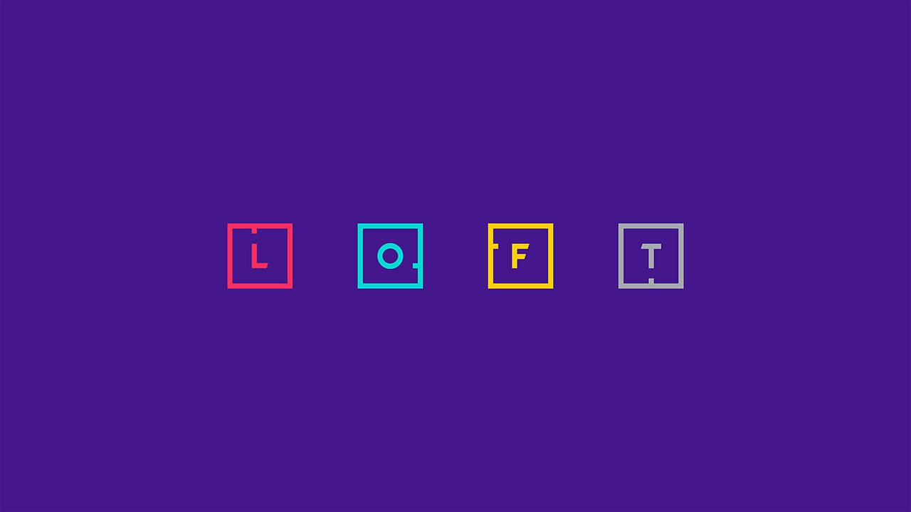 Identidade visual da agência digital Loft