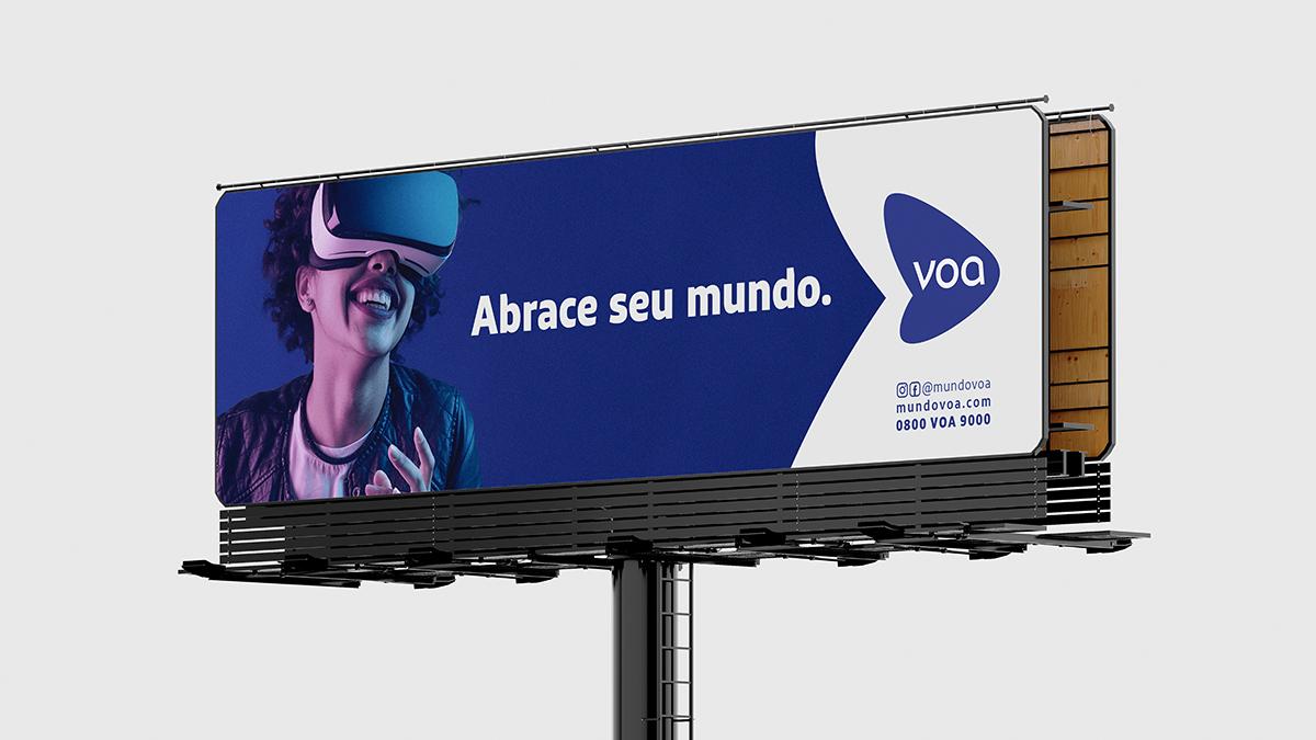 Publicidade da Marca Voa