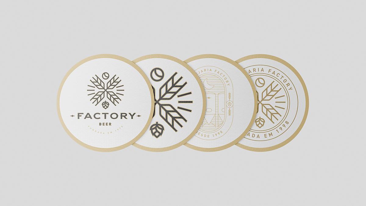 Identidade visual para Factory Beer