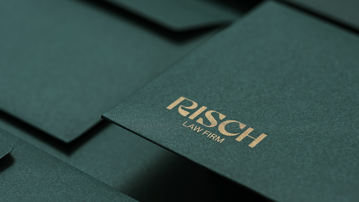 Risch Law Firm - Identidade Visual;