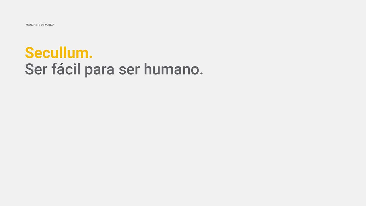 Secullum: Ser fácil para ser humano.